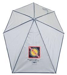 Beach chair Umbrella - Easily clamps to back of your beach chair for total shade.   7 Panel Clamp On With Total Sun Block by Rio Brands  #riobrands