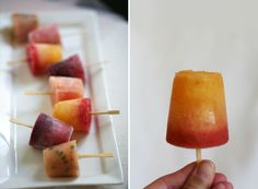 mango mimosa pop for bridal showers