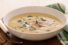 Soupe de poireaux poulet au Cookeo,une délicieuse soupe tendre pour votre dîner, voila la recette la plus facile pour le cuisiner.