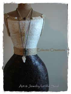Nayla Custom Dress Form Paper Mache Mannequin by Mingz on Etsy, $425.00