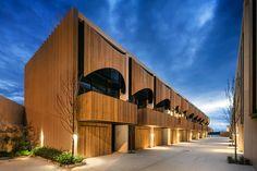 Cool timber facade