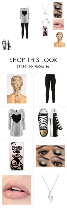 """Untitled #416"" by nala1220 on Polyvore featuring Converse, Casetify, BERRICLE and Amanda Rose Collection"