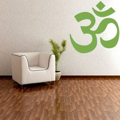 OM Symbol Wall Decal by WallStarGraphics on Etsy, $40.00