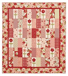 Cherry Malmalade Quilt-I love it! by http://seehowwesew.wordpress.com/    Patterns sold at O'Susannah's in Watkins Glen, NY