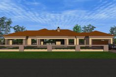 Dream Home Design, My Dream Home, House Design, Dream Homes, Beautiful House Plans, Beautiful Homes, Single Storey House Plans, Tuscan House Plans, House Plans South Africa