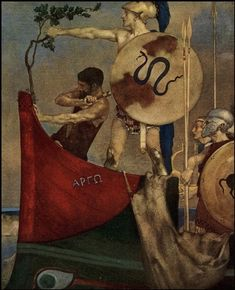 Sir William Russell Flint, 1880-1969, The Heroes