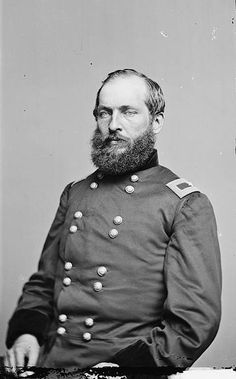 General James A. Garfield. It is interesting to note, Garfield went on to become the 20th President of the United States and was the second to be assassinated. He spent less than 4 months in office (1881)