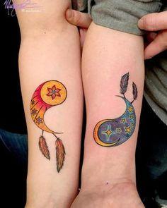 Die 50 Besten Bilder Von Bruder Schwester Tattoo Couple Tattoos