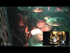 Gojira - Space Time - Mario Duplantier - Zildjian - YouTube