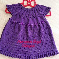 Örgü Bebek Elbisesi Yapılışı