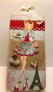 Fashionable Cards: I love the Prima Paper Dolls!