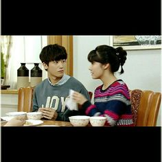 Nam Ji Hyun and Park Hyung Sik