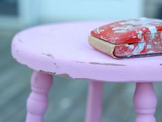 """DIY Chalk """"style"""" Paint is not chalkboard paint, but paint that makes transforming furniture easy as it needs no surface prep and dries to a chalk-like finish."""