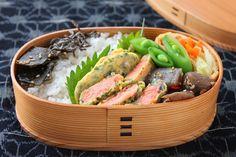 下味いらずで楽チン鮭の磯辺ピカタのお弁当
