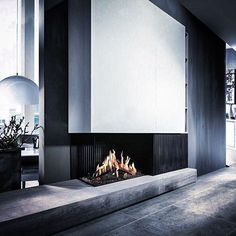 Fireplace Fairo eco prestige 80 by Kal-fire Home Fireplace, Fireplace Remodel, Fireplace Design, Fireplace Modern, Great Rooms, Interior Design Living Room, Interior Architecture, House Design, Home Decor