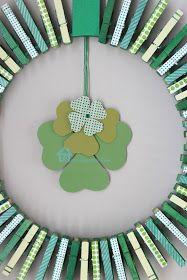 Remodelando la Casa: Saint Patrick's Day Wreath