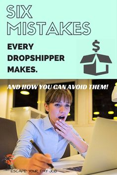 A Dropshipping business is one of the easiest and best ways to start earning money online. I've been succeeding online for over 5 years now and I want to point out to you the top mistakes online entrepreneurs make and how you can avoid them. This post will help you make money faster, AND avoid the potential headaches and pitfalls.