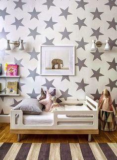 Michelle - Blog #Stars in #bedroom Fonte : http://www.bloglovin.com/blog/post/1071262/1774502833?link=aHR0cCUzQSUyRiUyRm1pbmFzZGVjb3JhbmRmYXNoaW9uLmJsb2dzcG90LmNvbSUyRjIwMTMlMkYxMCUyRmludGVyaW9ycy1tb25kYXktdG9kZGxlci1yb29tLXdlZWtlbmQuaHRtbA==