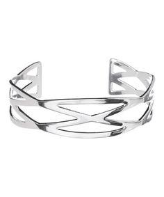 Look at this #zulilyfind! Sterling Silver Summer Cuff #zulilyfinds