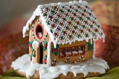 Image result for giant gingerbread house