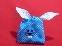 Osterkörbchen - Kleine Osterhasen Verpackung - ein Designerstück von Taeschli-und-co bei DaWanda