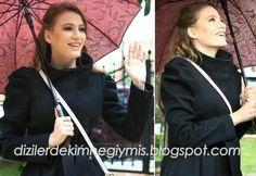 Medcezir - Mira (Serenay Sarıkaya), Black Coat