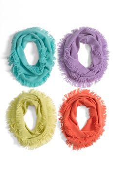 bright & happy scarves | @Nordstrom Rack #RackUpTheJoy