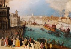 Caullery Capriccio of Venice with the Bucintoro (3000×2081)