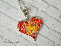 Hearts on Fire by Gaylene Gibson on Etsy