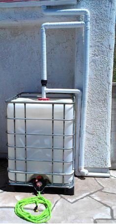IBC Conteiner 2 (сбор дождевой воды) Water Collection System, Rain Collection, Water Containers, Water Garden, Water Conservation, Construction, Website, Water Catchment, Web Images
