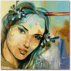 Trademark Fine Art Andalucia Canvas Art by Andrea, Size: 18 x 18, Multicolor