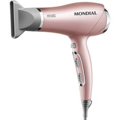 Secador de Cabelos com Tourmaline Ion Technology - Mondial Golden Rose Chi Hair Products, Beauty Products, Rainbow Sprinkles, Hair Tools, Hair Dryer, Glow, Personal Care, Skin Care, Cosmetics
