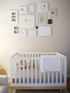 The Oeuf Classic Crib has a modern yet natural look. http://blog.thebump.com/2012/05/11/nursery-spotlight-modern-white/#slideshow=2