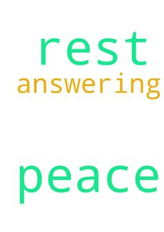 I need peace and rest from God. Thank you for praying. - I need peace and rest from God. Thank you for praying. Thank You Jesus for answering.  Posted at: https://prayerrequest.com/t/GDm #pray #prayer #request #prayerrequest