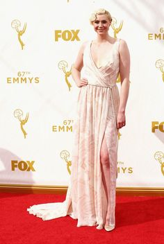 Pin for Later: See All the British Stars at the 2015 Emmy Awards Gwendoline Christie
