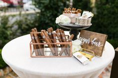 Featured Photographer: Greer Gattuso Photography; Wedding cigar bar ideas.