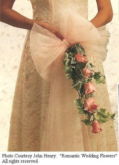 Tulle Decorations for Weddings