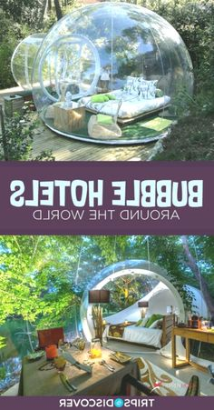 8 Incredible Bubble Hotels Around the World Bubble House, Bubble Tent, Casa Bunker, Dome House, Beautiful Places To Travel, Hotels And Resorts, Dream Vacations, Glamping, Interior And Exterior
