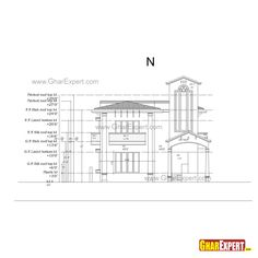 Sample Architectural Structure Plumbing and Electrical drawings Plumbing Drawing, Building Elevation, Rooftop, Floor Plans, How To Plan, Architecture, Architecture Illustrations, Floor Plan Drawing, House Floor Plans