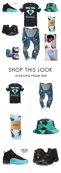 """""""been trill"""" by aleisharodriguez ❤ liked on Polyvore featuring Been Trill, HUF, Timberland, Retrò, NIKE, men's fashion and menswear"""