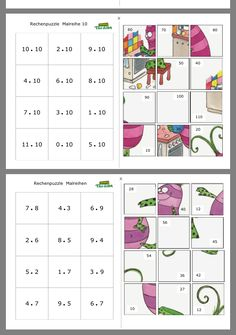 Subtraction Activities, Enrichment Activities, Math Multiplication, Printable Math Games, Kids Math Worksheets, Kindergarten Math, Teaching Math, Mickey Coloring Pages, Educational Websites For Kids