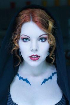 Halloween Vampire Makeup Ideas.
