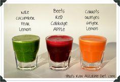 Tina's Raw Alkaline diet!: Alkalisch + Heerlijk + Energie = Verse Sappen