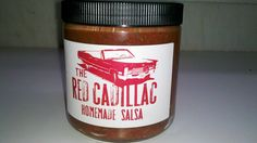 Salsa..Bottled Just fro You  TheRedCadillacNJ.com