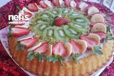 Meyveli Tart Kek