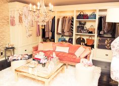 Rosie Huntington-Whitely's dressing room
