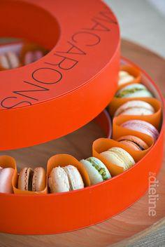 #houseofpackaging | Box for Pierre Hermes Macarons. Trés Delicieux!