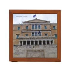 Personalized Greek office & school supplies to wow your co-workers or classmates. Browse custom pens, mouse pads, calendars and much more at Zazzle! Pencil Holder, Athens, Greek, Frame, Decor, Picture Frame, Decoration, Pencil Holders, Decorating