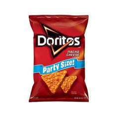 Doritos Nacho Cheese Flavored Tortilla Chips, 15.5 oz Walmart.com ($3.98) ❤ liked on Polyvore featuring food and filler