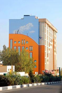 Des fresques à Téhéran fresque teheran 03